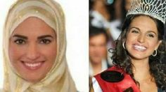 Ratu KecantikanCeko, Marketa Korinkova kini sudah merubah penampilannya dengan menggunakan jilbab.
