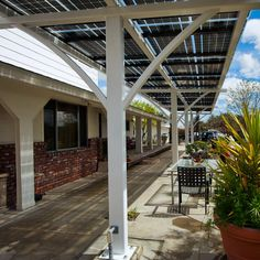 Great Customize Solar Panels Patio Covers Ideas