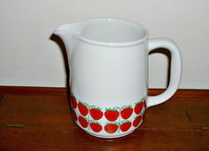 Vintage Arabia Finland Strawberries Pomona by ClassicMemories, $115.00
