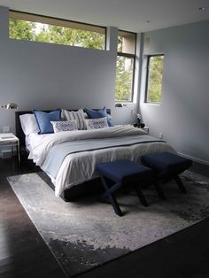 Home Decor Modern Bedroom. ベッドルームのインテリアコーディネイト実例