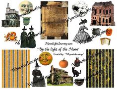 Becky's By The Light Of The Moon Collage Sheet