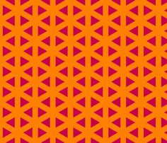 crazy_psychedelic__triangles fabric by southernfabricdiva on Spoonflower - custom fabric