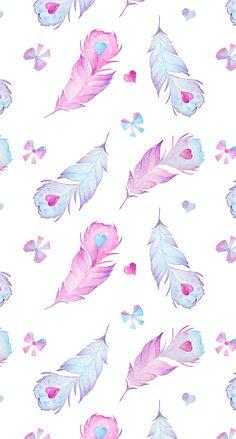 50 trendy wallpaper iphone boho we heart it Unicornios Wallpaper, Feather Wallpaper, Wallpaper Fofos, Pastel Wallpaper, Kawaii Wallpaper, Trendy Wallpaper, Tumblr Wallpaper, Cellphone Wallpaper, Wallpaper Backgrounds