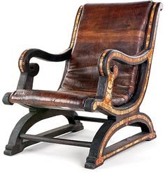 Delicieux Camel Leather Chair · African FurnitureColonial ...