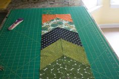 Sing All You Want: The Arrow Tail Quilt Tutorial - Piecing Instructions