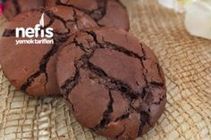 Dubble Çikolatalı Nefis Ve Kolay Kurabiye Tarifi
