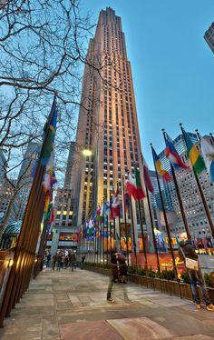 Stop number 11: Rockefeller Center & Saint Patrick's Cathedral
