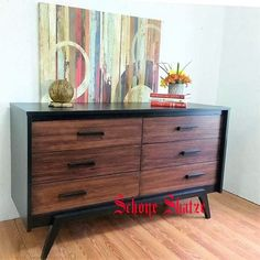 Mid Century Modern dresser redefined by Schone shatze