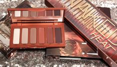 Urban Decay Naked Heat Petite Swatches & Review #UrbanDecay #NakedHeat