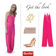 Get the look Ingrid Velasco  #totalpink #nude