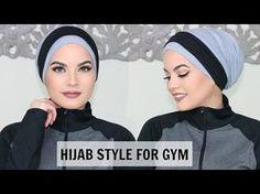 Hijab Style, Turban Style, Hijab Mode Inspiration, Sports Hijab, Hijab Tutorial, Turban Tutorial, Hijab Evening Dress, Simple Hijab, Turban Hijab