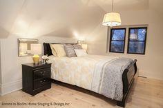 Staged Master Loft Bedroom
