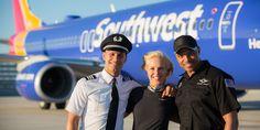 Employeesandtheir families get free air travel.