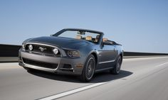 2013 Ford Mustang GT  Ford limited the 2013 Mustang GT to 147 mph, but we're going to include it anyway. The GT boasts a 5.0-liter V8 engine and the 420 horsepower that come along with it. That kind of raw power in a car that starts at $30,750 is pretty incredible. Considering that the next big power bump comes when you move up to the $54,200 Shelby GT 500, the Mustang GT, which looks quite lovely, don't you think?