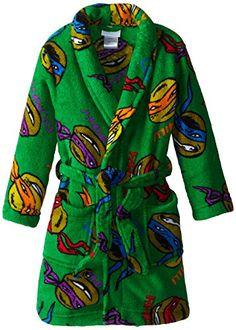 Teenage Mutant Ninja Turtles Little Boys' Team Bathrobe >>> You can get additional details at