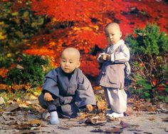 Young monks at Shaolin Temple