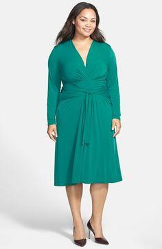 MICHAEL Michael Kors Faux Wrap Jersey Dress