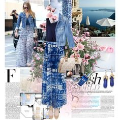 Untitled #1695 by marikamoshar on Polyvore featuring polyvore, fashion, style, Milly, MiH Jeans, Zara, MICHAEL Michael Kors, Miguel Ases, LORAC and Juliska