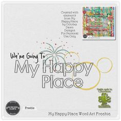 The Freckled Shamrock: October Dawn Designs Introduces My Happy Place