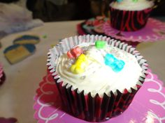 Nicole's bachelorette cupcakes!
