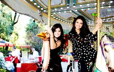 Kylie and Kendall Jenner <3