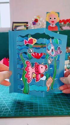 Animal Crafts For Kids, Halloween Crafts For Kids, Craft Activities For Kids, Toddler Crafts, Preschool Crafts, Diy For Kids, Cards For Kids, Ocean Kids Crafts, Easy Diy Crafts