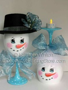 Cute DIY snowman glasses easy dollar store DIY