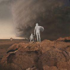 """Kahn & Selesnick's """"Mars: Adrift On the Hourglass Sea"""" Series: Juxtapoz-KahnSelesnick06.jpg"""