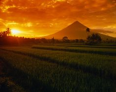 World's most perfect cone shaped volcano, Mayon Volcano