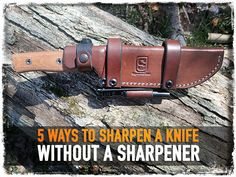 A dull knife is dangerous, but sometimes you end up with a blunt blade out in the field. If you find yourself without a sharpener you are still in luck. This video shows you 5 ways to sharpen a knife with common everyday items. It is surprising that if you understand the mechanics of sharpening … Continue reading »