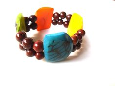EcoFriendly Chunky MultiColor Tagua Nut by TerriJeansAdornments, $24.00
