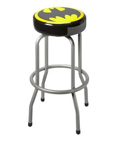 Take a look at this Batman Bar Stool by DC Comics on #zulily today! My brother would have LOVED this!! He even had a bar in his apartment.