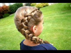 Same-Side Dutch Braid video tutorial http://media-cache1.pinterest.com/upload/35325178296705240_4pqcYVbU_f.jpg mrshairdo cute girls hairstyles videos