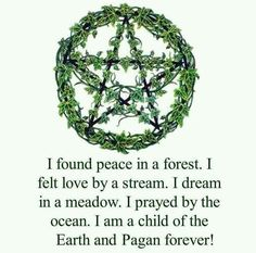 Proud to be wiccan.