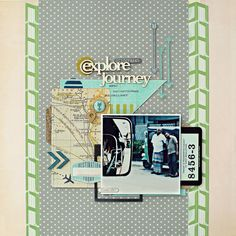Explore / Journey | Flickr - Photo Sharing! - love the map card!