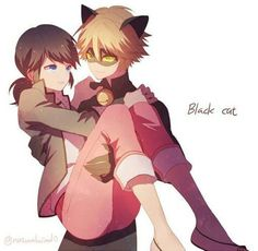 Marinette x Chat Noir is my favorite pairing between the possibilities. Miraculous Ladybug is golden, and I'm here to remind you again to check it out. Miraculous Ladybug: Marinette and Chat Noir Comics Ladybug, Meraculous Ladybug, Lady Bug, Miraculous Ladybug Chat Noir, Chibi, Marinette Ladybug, Ladybug Und Cat Noir, Ladybug And Cat Noir Reveal, Super Heroine