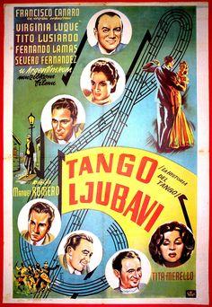 1949 - LA HISTORIA DEL TANGO - Manuel Romero - (Yugoslavia)
