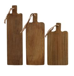 Broodplank - Hout - Set van 3 - HK Living
