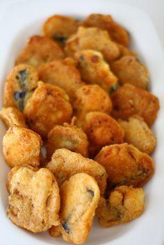 Patlıcan Kızartması   Hamurger