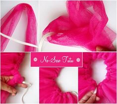 No-Sew Fairy Tutu - Totally making one for the #Komen #raceforthecure! How easy. #doyoututu  @komenvirginia @Susan G. Komen