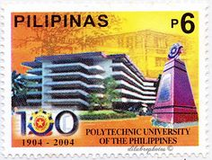 Philippines.  Polytechnic University of the Philippines Centennary.  SCott 2899 A914, Issued 2004 Jan 22, 6. /ldb.