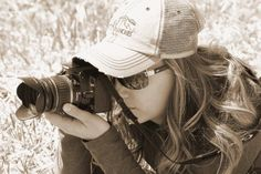 Ranch Broker Assistant Kari snapping a photograph. Read more here: http://www.fayranches.com/blog