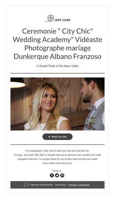 "Ceremonie "" City Chic"" Wedding Academy""  Vidéaste Photographe mariage  Dunkerque Albano Franzoso"
