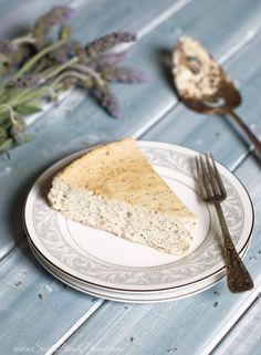 Lavender Earl Grey Cheesecake