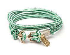 #lechatvivi #ancor #bracelet #ancorbracelet Ancor bracelet by LeChatVIVI BERLIN® with nice colour mint green www.lechatvivi-berlin.com