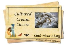 Cultured Cream Cheese
