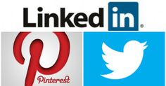 Pinterest y LinkedIn, más populares que Twitter