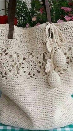 Marvelous Crochet A Shell Stitch Purse Bag Ideas. Wonderful Crochet A Shell Stitch Purse Bag Ideas. Crochet Purse Patterns, Crochet Tote, Crochet Handbags, Crochet Purses, Easy Crochet, Knitting Patterns, Knit Crochet, Crotchet Bags, Knitted Bags