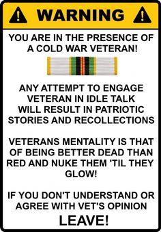 cold war veterans - https://www.weweresoldierstoo.com/