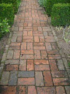 brick courtyard design - Google Search